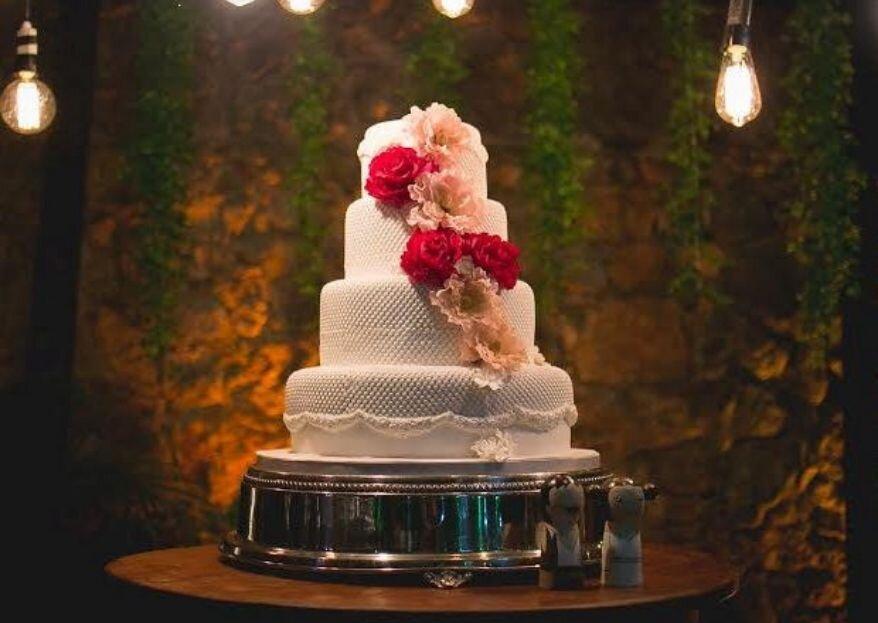 Ivanilda Pinheiro Cake Designer: mais de 30 anos criando os bolos dos sonhos das noivas cariocas! Apaixone-se por suas criações!