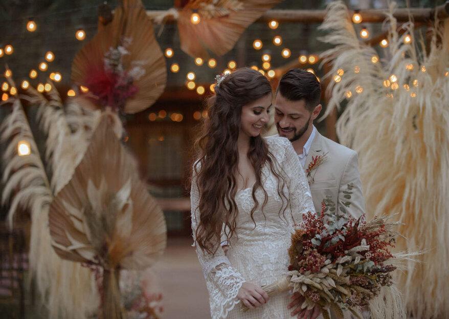 7 estilos de lugares para diferentes estilos de casamento: o seu pode ser um deles!