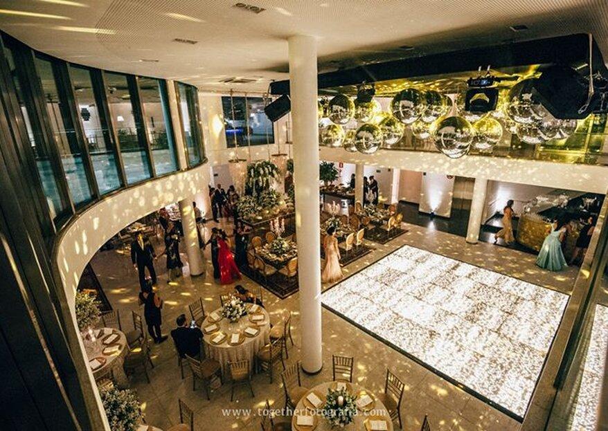 Das Haus Eventos: o espaço perfeito para o seu grande dia, com uma arquitetura clean e moderna, emoldurado pela Serra do Rola Moça, em Belo Horizonte