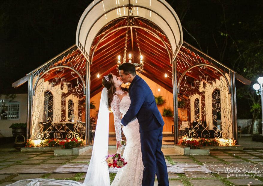 Um espaço de casamento inesquecível para uma experiência nupcial também memorável!