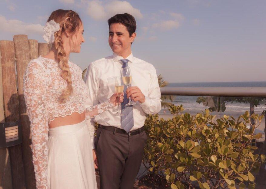 Thais Petreca Assessoria em Eventos e Cerimoniais: Conheça a empresa de Ubatuba preparada para ajudar vocês a se casarem no paraíso
