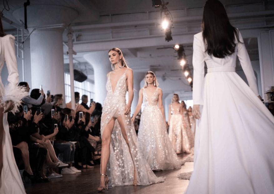 New York Bridal Fashion Week 2019: 5 tendências que vão fazer com que você se apaixone!