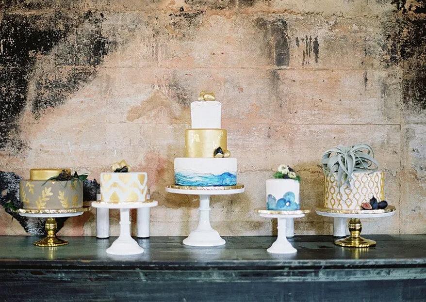 Guia Completo do bolo de casamento - 5 passos para escolher o bolo perfeito e 15 estilos diferentes!