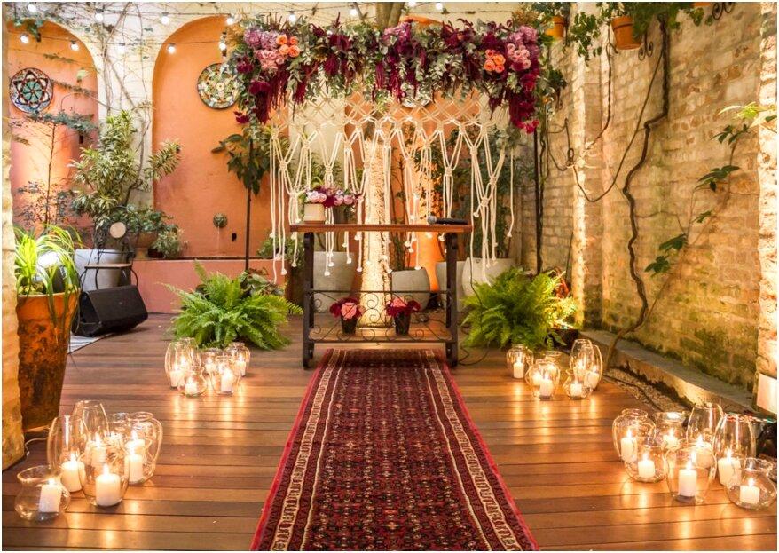 Casa Quena: uma construção de sonho e incrível para o seu mini wedding que remonta aos anos 20!