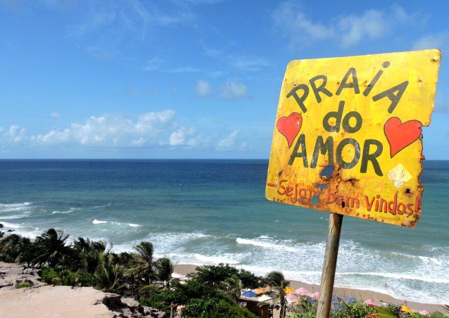 Lua de mel no Brasil: 10 lugares incríveis para sua Lua de Mel!
