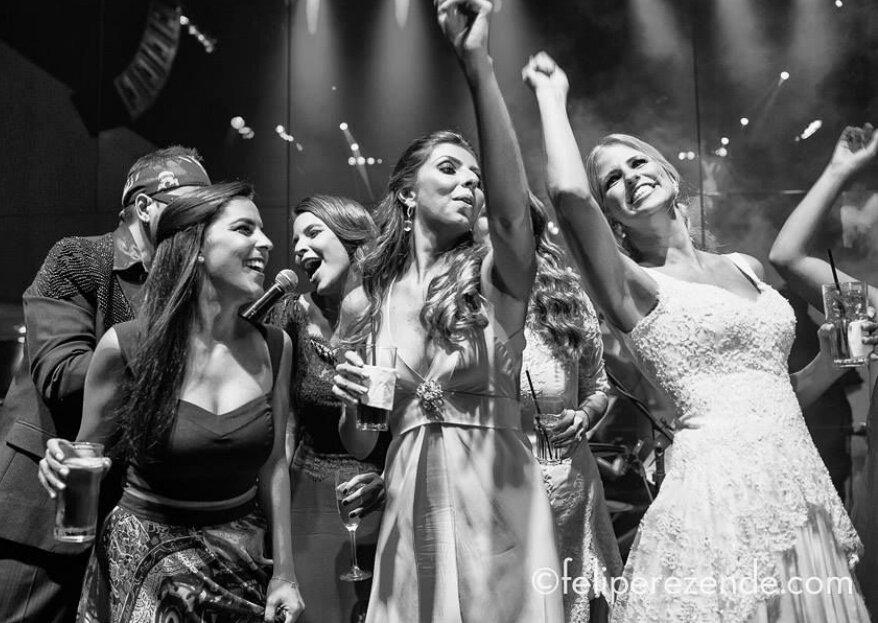 Banda Supernova: Garanta boa música, alto astral e elegância na pista da festa do seu casamento!