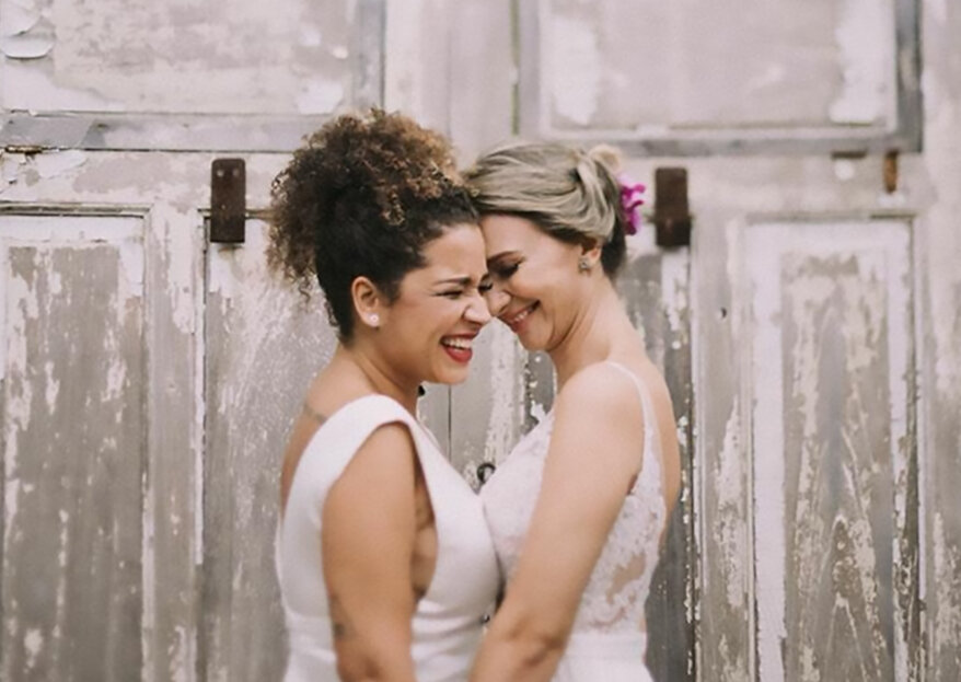 Casamento de Luise e Zilda: boho, romântico, colorido e repleto de girassóis