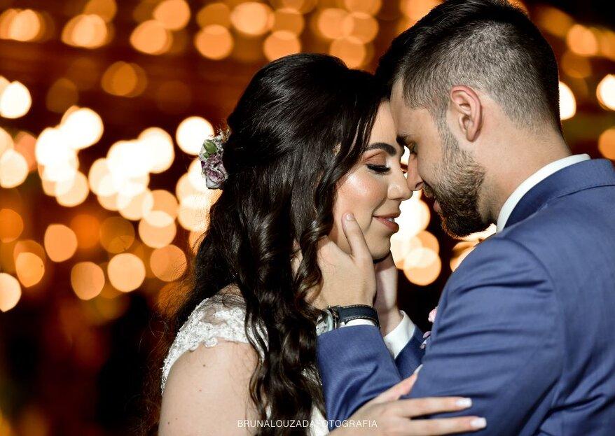 Gabriela & Rafael: Casamento boho-chique incrível e ao ar livre no Espaço Algarve