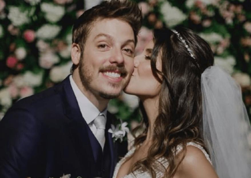 O casamento de Fábio Porchat e Nataly Mega