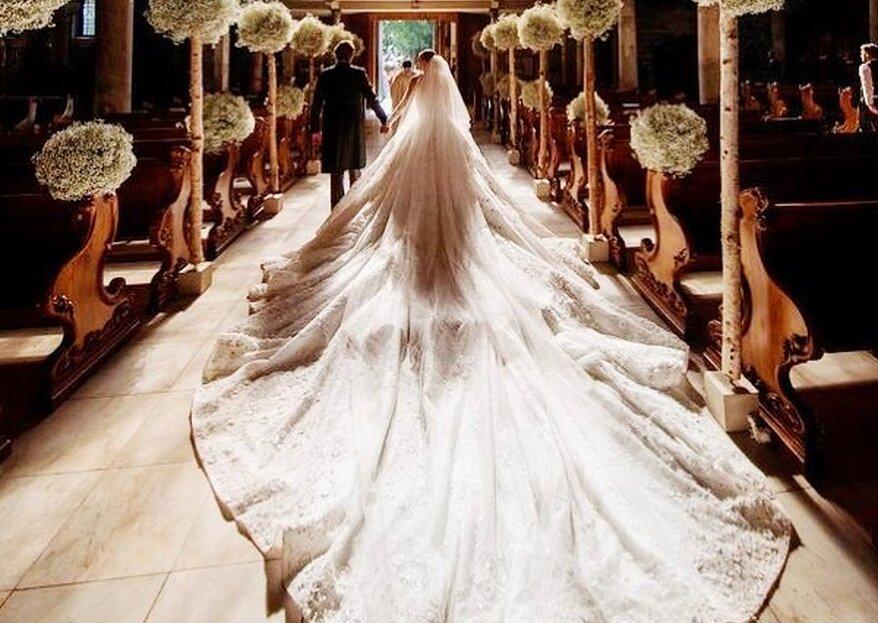 Os 7 vestidos de noiva mais caros da história