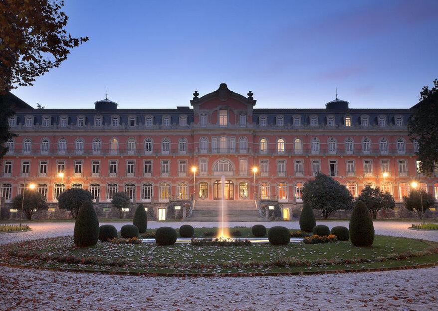 Vidago Palace Hotel: Destination wedding inesquecível e digno de realeza em Portugal