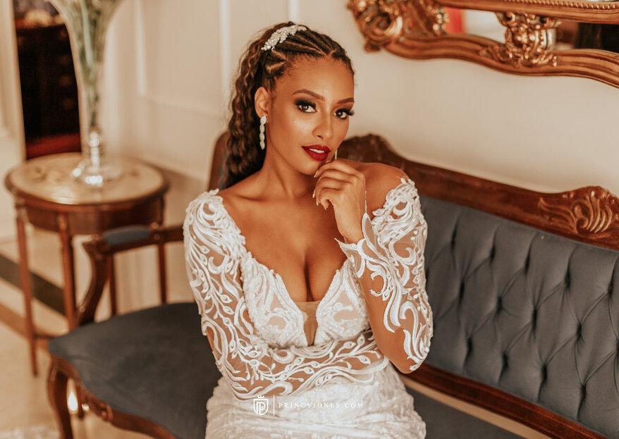 Lêda Noivas: um ateliê espetacular preparado para te ajudar a encontrar o vestido de noiva ideal