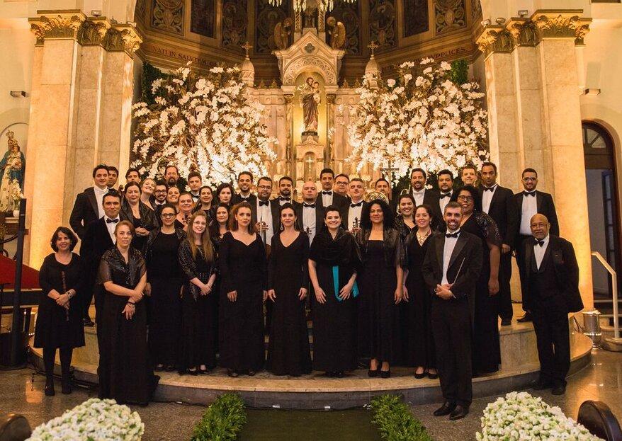 Del Chiaro Coral e Orquestra: para quem deseja uma trilha sonora personalizada capaz de emocionar e surpreender seus convidados