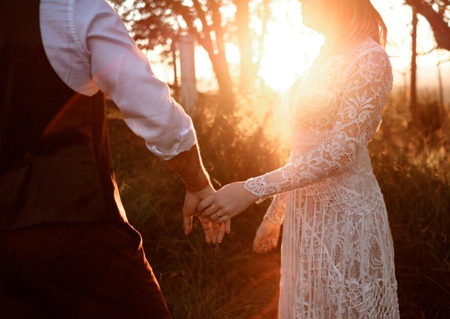 Estas são as tendências de casamento para 2019. Não perca!