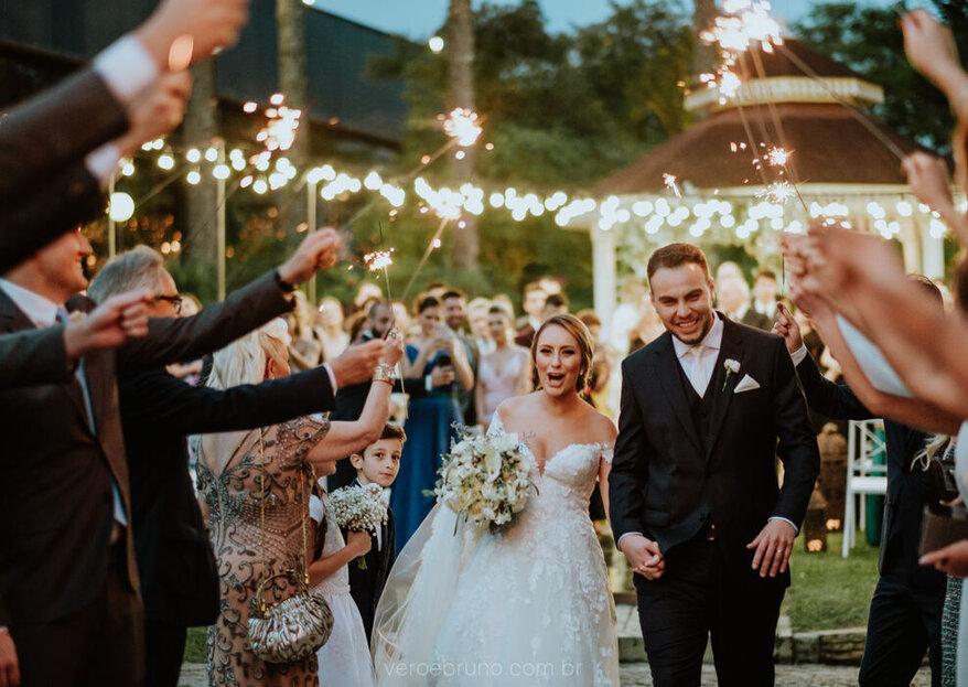 Sonha com um casamento ao ar livre? Descubra quais são os espaços que conquistaram o coração de noivos por todo o Brasil!