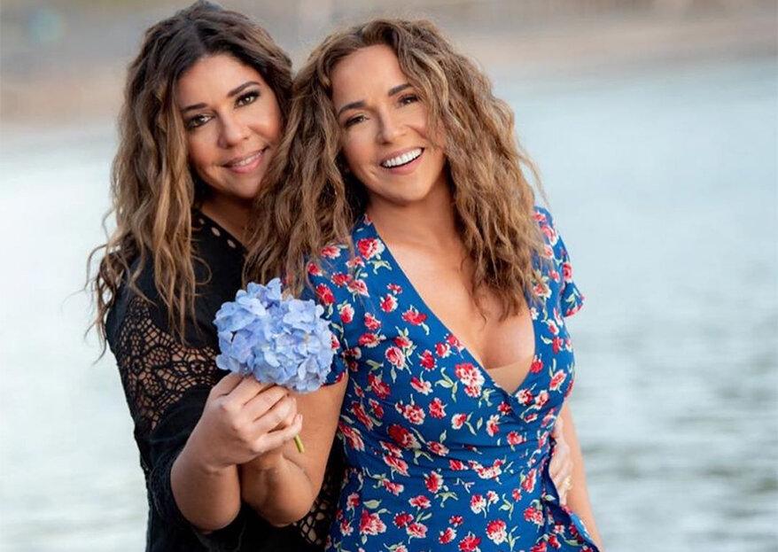 """Daniela Mercury e Malu Verçosa se casam em Portugal: """"agora estamos oficialmente casadas em Portugal, na Europa e no mundo"""""""