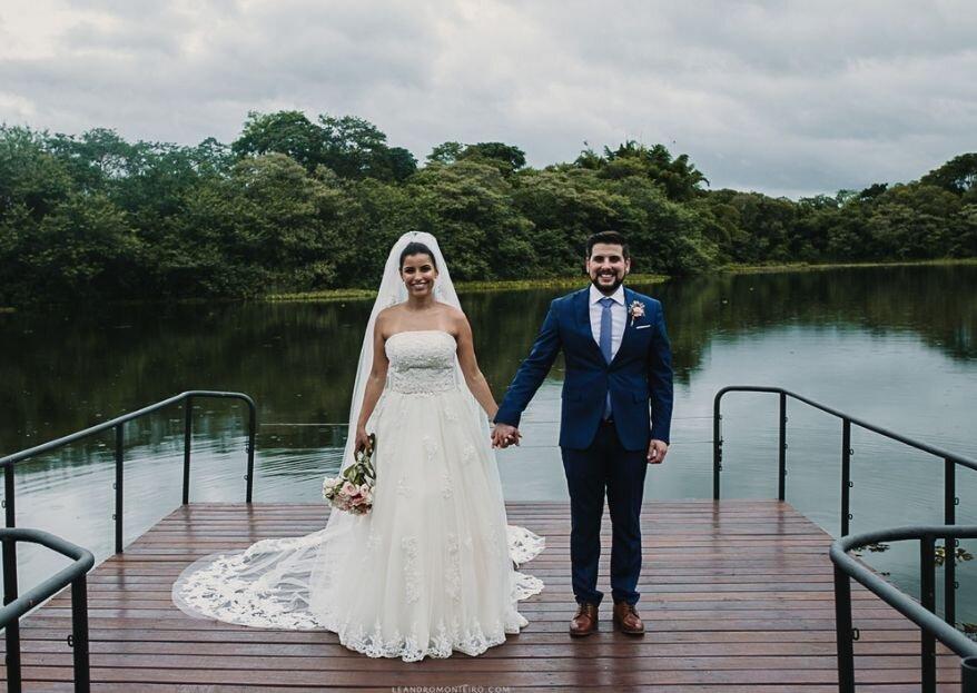 """Espaço Lagoon: o palco romântico para um """"Sim!"""" no Campo com Vista para o Lago!"""
