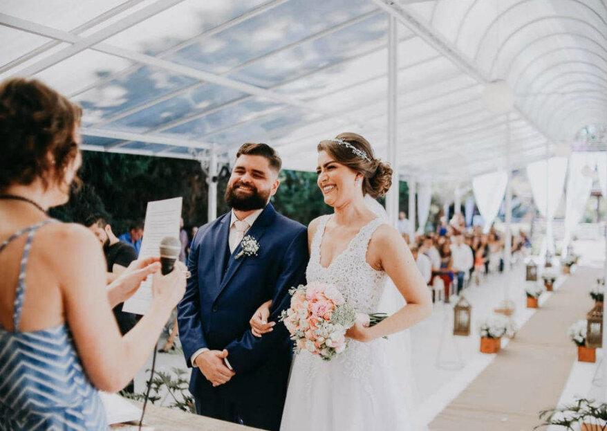 Presente em Palavras: conheça a empresa que traduz seus sentimentos e dá voz às suas emoções no dia do seu casamento