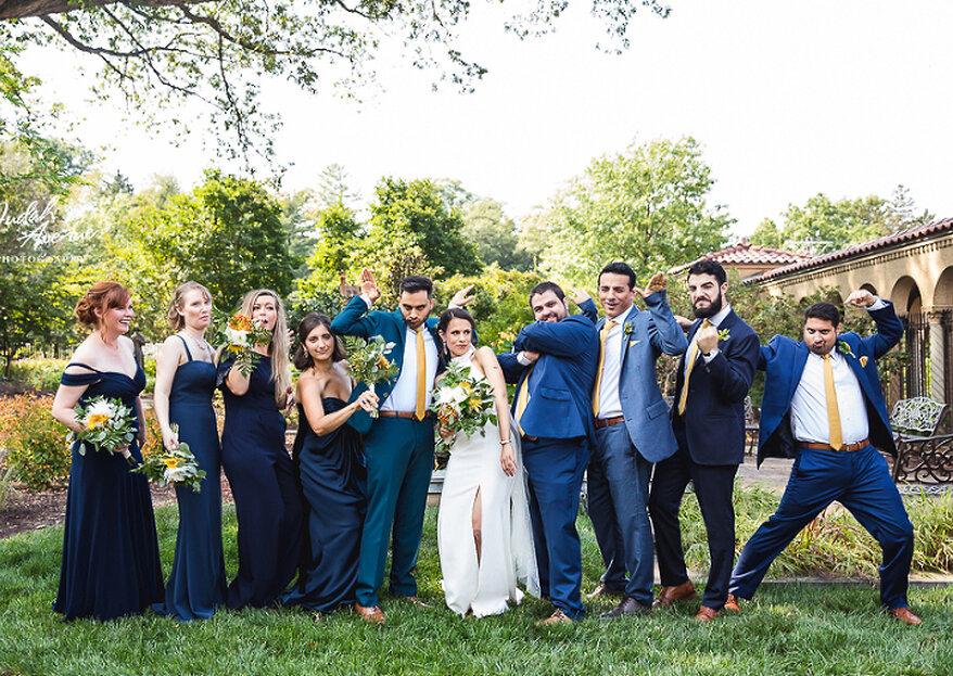 Pantone revelou a cor de 2020: Classic blue. E é assim que vai ficar em seu casamento!