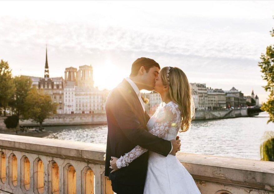Vai realizar um destination wedding? Então confira as dicas da estilista Carol Hungria para acertar em cheio no vestido de noiva para a ocasião!