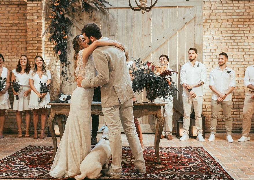 Celeiro Quintal: um espaço singular e cheio de e charme, perfeito para casais apaixonados pelos fantásticos farm weddings