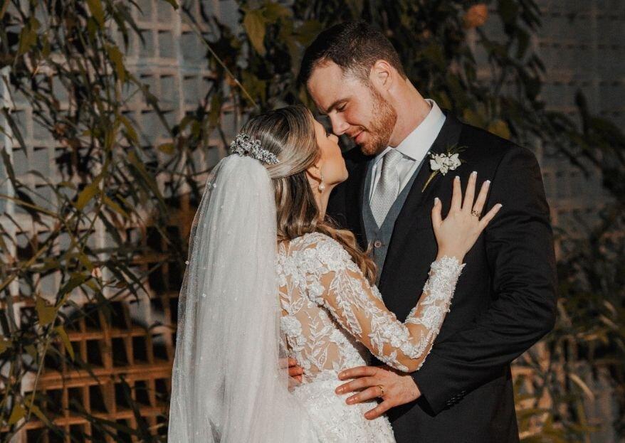 Maria Eduarda & André: Casamento com decoração clássica e sofisticada para celebrar o amor.