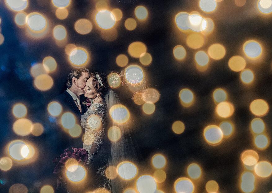 Jacqueline & Marco Antonio: Casamento com décor inspirado na opulência de Las Vegas e festa animada na Casa Bisutti