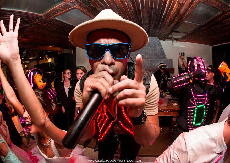 Danny Oficial: um espetáculo musical que é uma verdadeira explosão de alegria e divertimento para os seus convidados