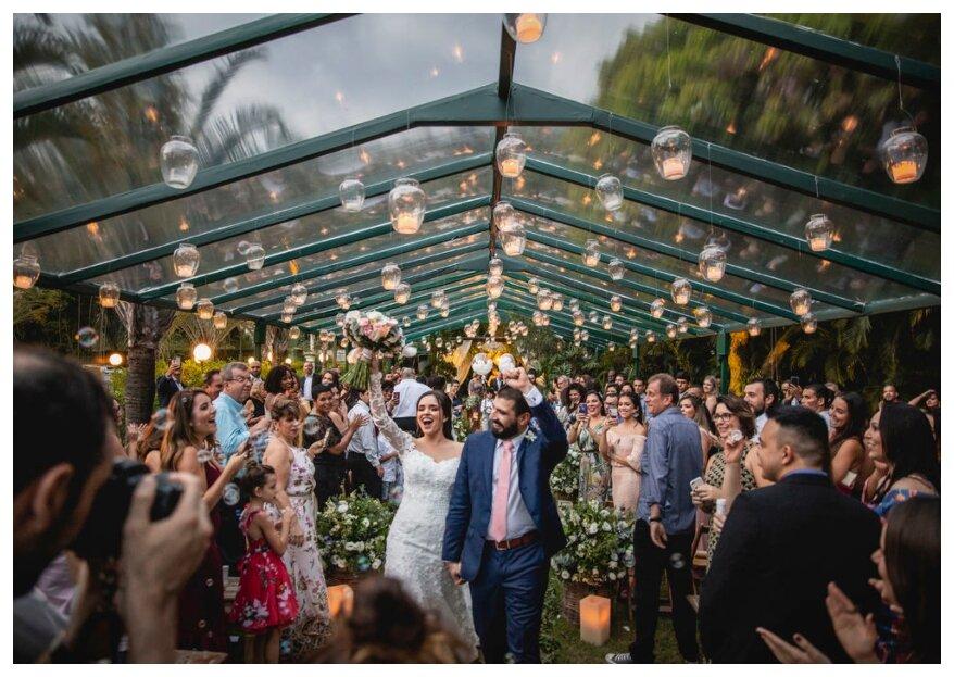 O casamento dos sonhos: na Casuarinas Casa de Festas seu grande dia será inesquecível