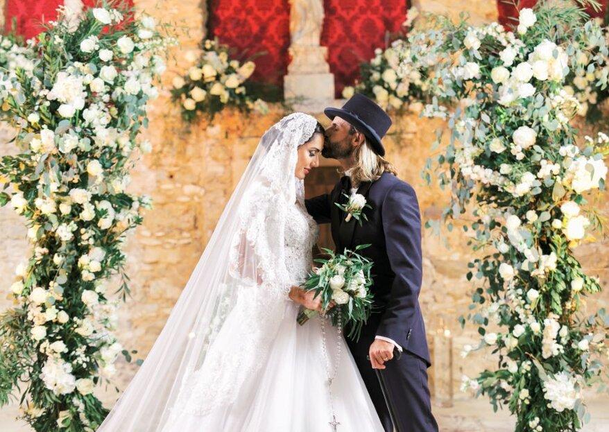 Celebridades em Portugal, Kelly Baron e Pedro Guedes têm o casamento perfeito que sempre sonharam com o trabalho primoroso da Eventos Privé