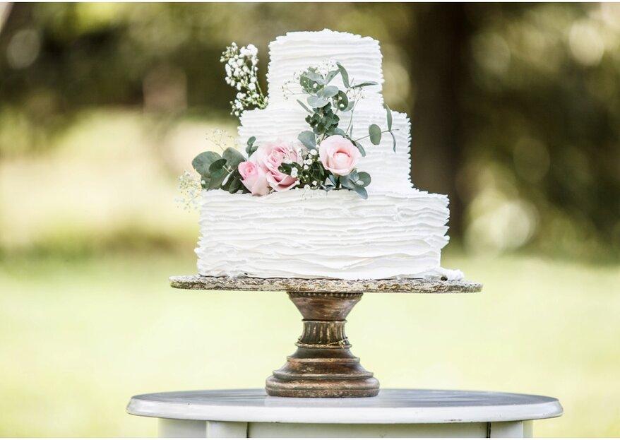 Ruffle Cakes: os bolos de casamento mais pedidos para 2018!