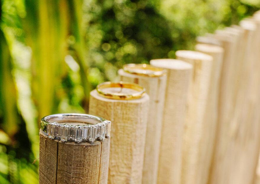Como escolher as alianças de casamento em 5 passos