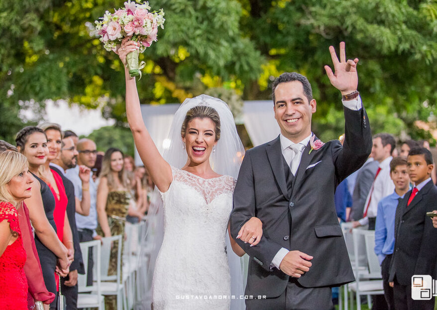 Com uma assessoria de casamentos estas 8 coisas não serão deixadas de fora em seu grande dia!
