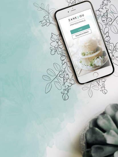 Baixe o App Zankyou para Profissionais