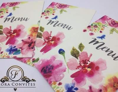 Flora Convites
